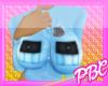 *PBC* +AB PoPo Blue