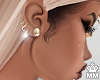 mm. Gold Earrings
