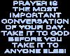 Take it to God