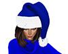 Blue Santa Hat (F)