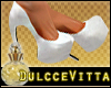 ~DV~White HeelsPlatforms