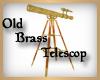 Old Brass Telescop