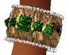 Emerald Giza Bracelets