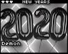 ◇Goth 2020 Balloons