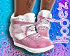 Sneaker White Pink 1