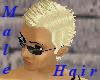 (A) Male blonde fauhawk