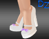 Chunky Pumps with Purple