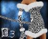 ~D3~Snow Leopard Dress
