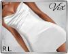 WV: White Silk Dress RL