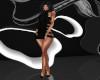 Black N Strapped Dress
