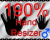 *M* Hand Scaler 180%