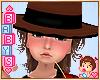 ! Kids Cowboy Hat & Hair