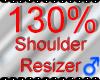 *M* Shoulder Resizer 130