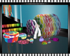 Rainbow Shower Candy Jar