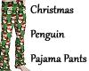 Christmas Penguin Pants