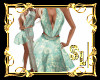 *Boho Green Dress