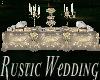 Rustic Wedding Buffet