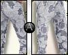 .Floral Print pants|V2
