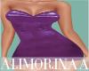 *A*Purple Latex Dres RLL