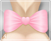 A| Pink Back ♥ Bow