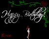 Happy Birthday White Sgn