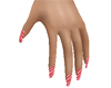 Peppermint Treat Nails