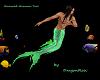 """DR"" Emerald Merman Tail"
