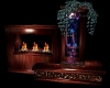 GOTHIC ALTAR/FIREPLACE