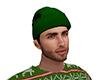 Dark Green Winter Hat M