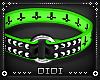 !D! Unholy Choker Green