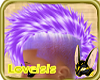 candy purple mohawk