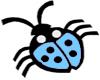 LadyBug-LightBlue
