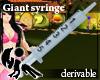 [Hie] Giant syringe drv