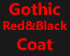 [CK] Red&Black Goth Coat