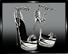 Sexy Silver Heels