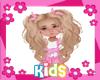 Hair Kids Blonde 8