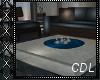 !C* B Blue Sofa