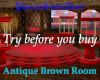 Antique Brown Room