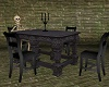 Haunted Skeleton Table