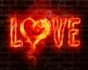 Fiery Love Neon 2-Sided