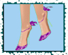 xAx~Floral Purple Shoes~