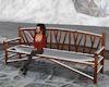 !Winter Wood Bench
