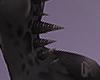 COAL Back Spikes Onyx