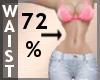 Waist Scaler 72% F A