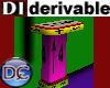 DI Deco Half Table