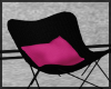 Black & Pink Chair