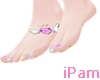 p. kawaii tattoo feet