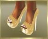 Golden Heart Heels