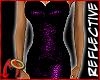 Metal Dress Purple