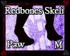 Redbones Skeli Paws M